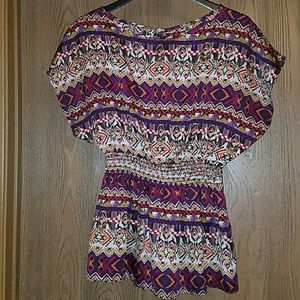 Print blouse (3 for$20)